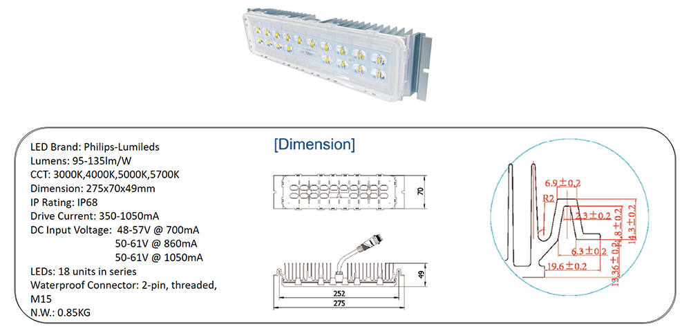 led light engine module