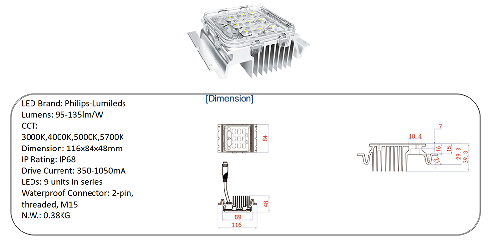 led lighting engine module