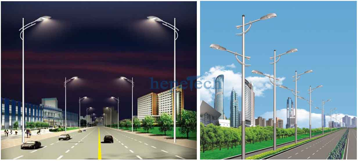 <a href=http://www.hepetech.com/ target='_blank'>LED street lamp</a> types