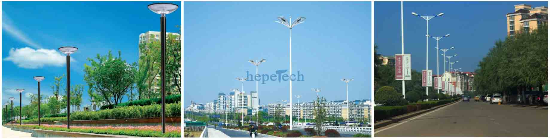 led outdoor lighting street lamps