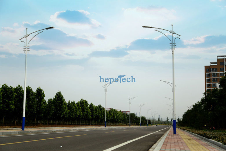 180w led street light application
